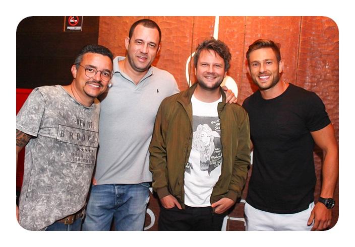 Fininho, Neto Von Bortel, Selton Mello e Felipe
